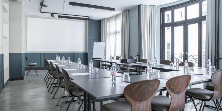 Hôtel Bachaumont : Salle Bachaumont, Salle de location Paris Sentier #0