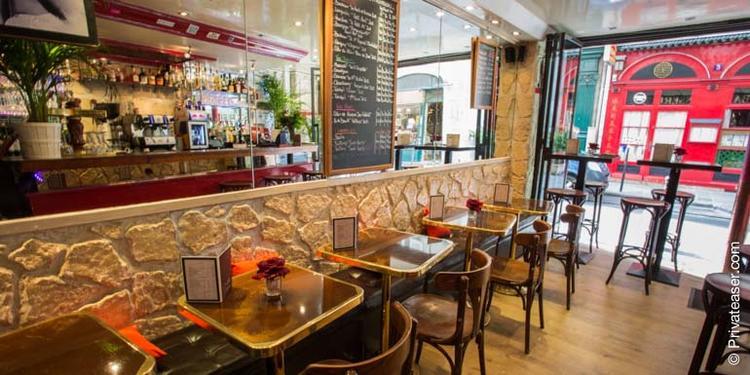 De Voltaire à Rousseau, Bar Paris Chatelet #0