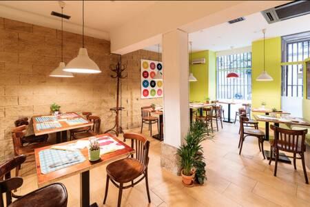 Reineta Vegetariano, Restaurante Madrid Cortes #0