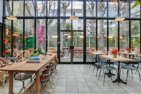 L'Entrepôt : Scène et Restaurant, Salle de location Paris Plaisance #0