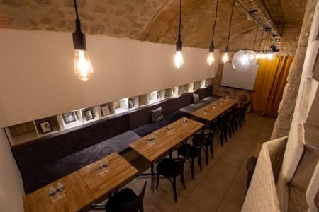 Cozette Café Concept : la salle voûtée, Salle de location Paris Quartier Latin #0