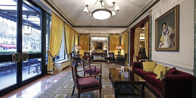 Hôtel Napoléon : le Salon Façade, Salle de location Paris Champs-Elysées #0