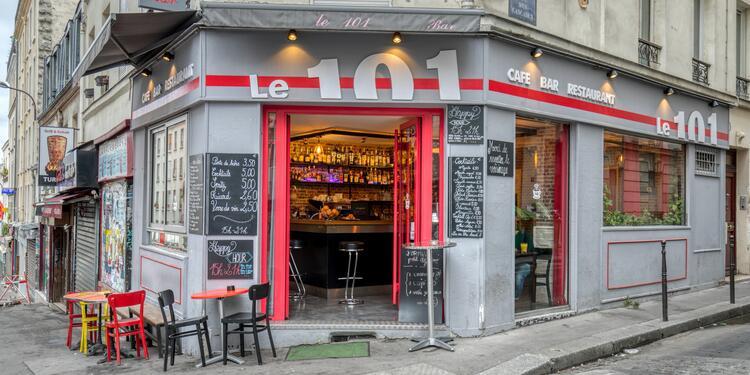 Le 101, Bar Paris Belleville #0