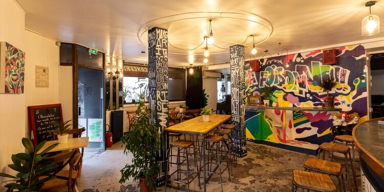 La Foisonnante (ex l'AbracadaBar), Salle de location Paris Canal de l'Ourcq #0