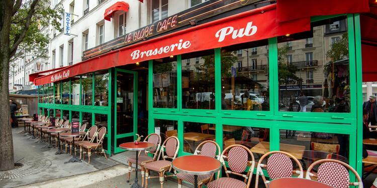 Le Globe Café, Bar Paris Place d'Italie #0