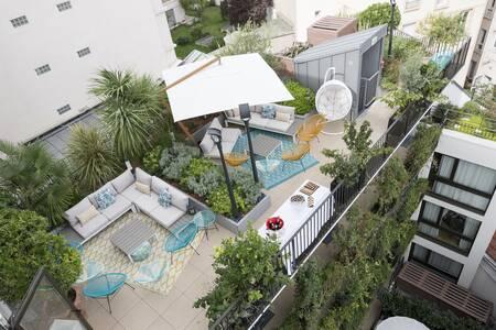 Les Jardins de Mademoiselle, Salle de location Paris Beaugrenelle #0