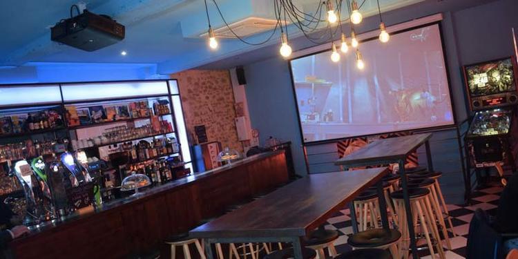 Technoir (ancien - Rockyrama Café), Bar Lyon Pente de la Croix-Rousse #0