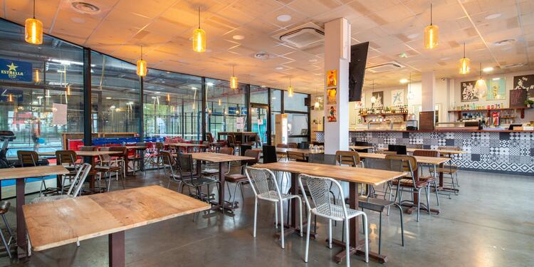 Casa Padel : le restaurant, Salle de location Saint-Denis  #0