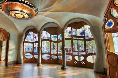 Casa Batlló, Sala de alquiler Barcelona Paseo de Gracia #0