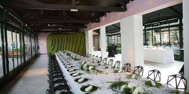 Jardin d'Acclimatation : la Grande Verrière et sa terrasse, Salle de location Paris Chaillot  #0