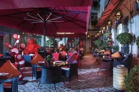 Buddha-bar Hotel Paris : terrasse intégrale, Salle de location Paris Concorde #0
