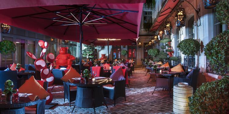 Buddha-bar Hotel Paris ***** : terrasse intégrale, Salle de location Paris Concorde #0