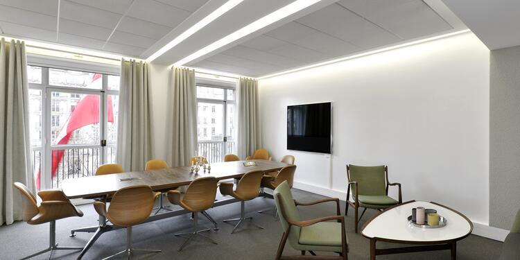 La Maison du Danemark : salle de réunion, Salle de location Paris Champs Elysées #0