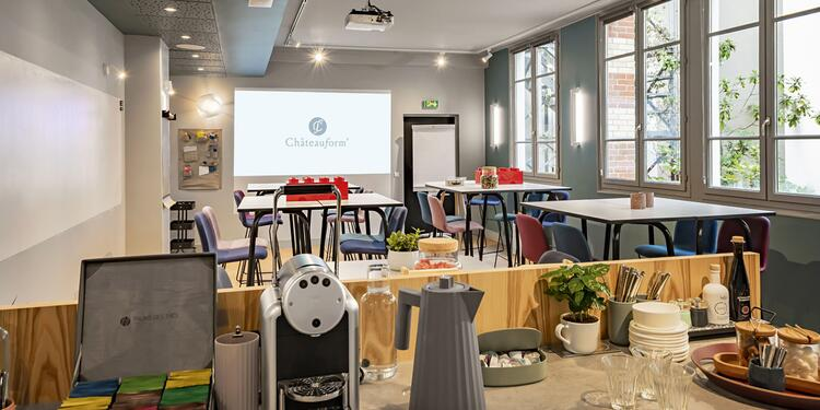 Châteauform' City Liège Saint-Lazare : Loft, Salle de location Paris St Georges #0
