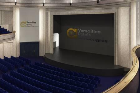 Palais des Congrès de Versailles : Amphithéâtre Richelieu, Salle de location Versailles Versailles #0