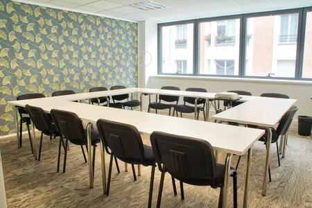 Deskeo Porte de Champerret : la salle 110, Salle de location Paris Ternes #0