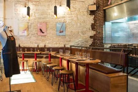 Saucette (FERMÉ), Bar Paris Rambuteau #0