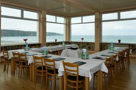 Hotel Brasserie Relais De La Pointe Du Van, Salle de location Cléden-Cap-Sizun  #0