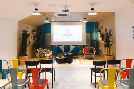 Anticafé La Défense : Salle Cosy, Salle de location Puteaux La Défense #0