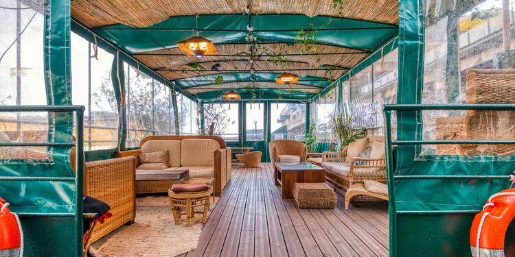 La pergola du Jardin Sauvage (privatisation complète), Salle de location Paris Austerlitz #0
