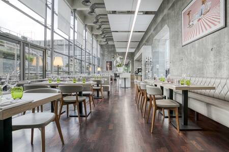 Le Toit de la Grande Arche : Restaurant la City, Salle de location Puteaux La Defense #0