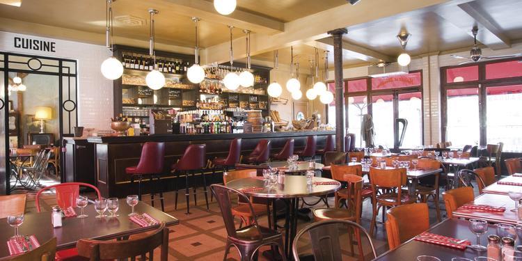 Les Deux Stations, Restaurant Paris Auteuil #0
