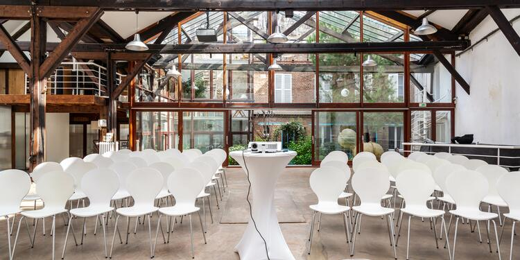 Loft des Écluses (ex Home sweet home), Salle de location Paris  #0