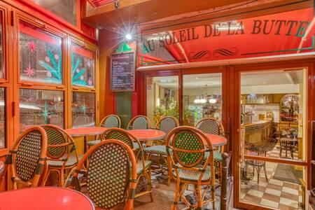 Au Soleil de la Butte, Bar Paris Montmartre #0