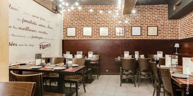 Flam's Lombards, Restaurant Paris Les Halles #8