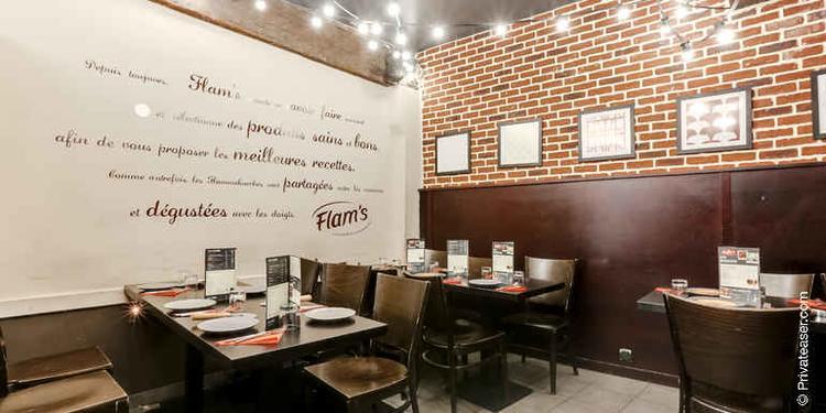 Flam's Lombards, Restaurant Paris Les Halles #9