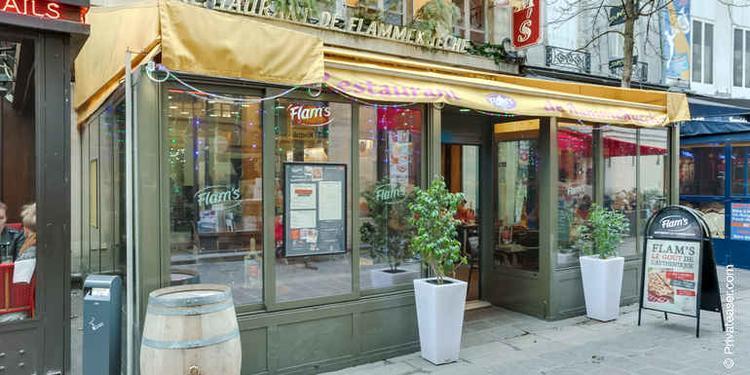Flam's Lombards, Restaurant Paris Les Halles #10