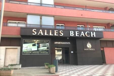 Apartamentos Sallés Beach, Sala de alquiler L'Estartit  #0