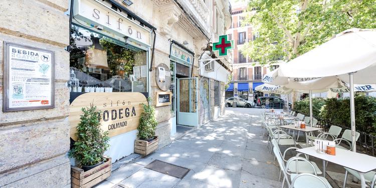 Sifón, Bar Madrid Chueca #4