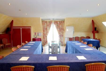 Aux Maisons Hotel Restaurant, Salle de location Maisons-lès-Chaource  #0