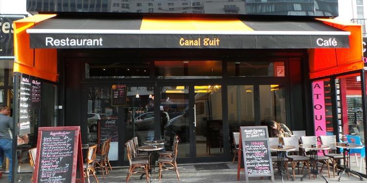 Le  Canal 8, Bar Paris Canal de l'ourcq #0