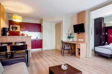 Appart'City Confort Marne La Vallée Val D'Europe, Salle de location Montévrain  #0