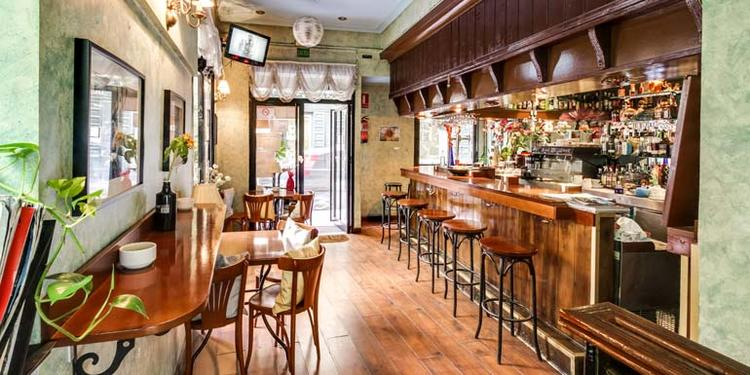 Café El Ángel Azul, Bar Madrid Chueca #0