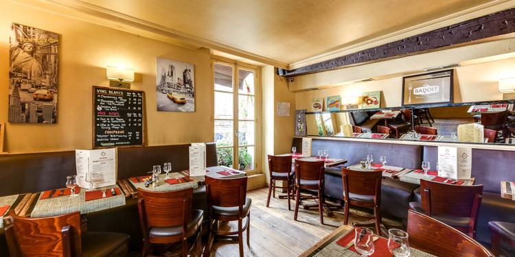 Le Café Six, Bar Paris Saint-Germain-des-Prés #9