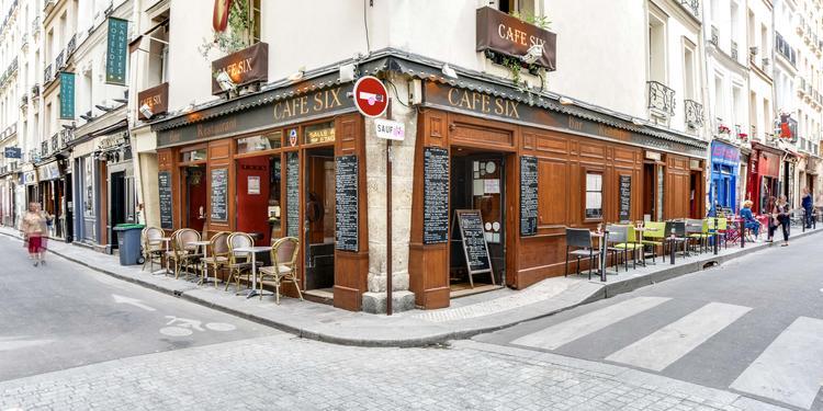 Le Café Six, Bar Paris Saint-Germain-des-Prés #10