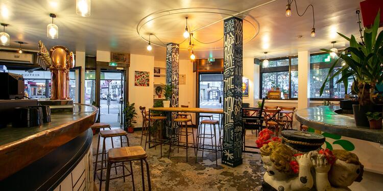 La Foisonnante (ex l'AbracadaBar), Bar Paris Canal de l'Ourcq #0