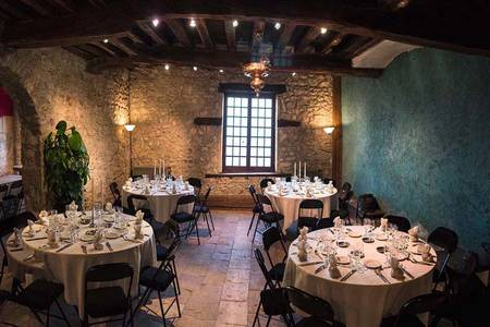Château de Saint Bonnet le Froid, Salle de location Grézieu-la-Varenne CRAPONNE #0