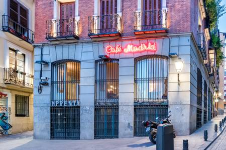 Café Madrid, Sala de alquiler Madrid Ópera #0