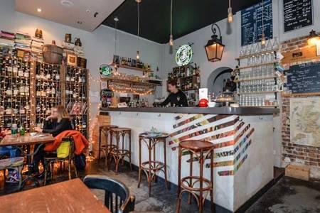 Le Verre Taquin, Bar Paris Colonel Fabien #0