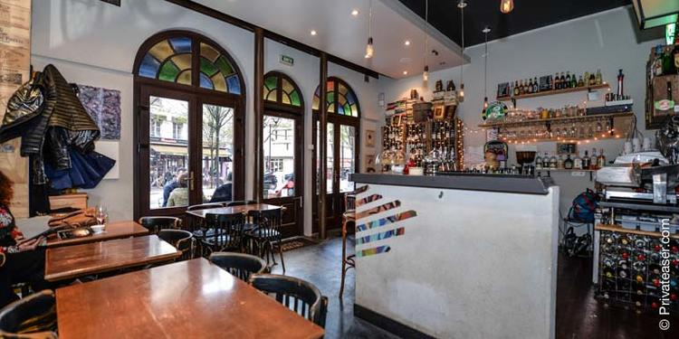 Le Verre Taquin, Bar Paris Colonel Fabien #2