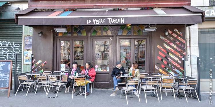 Le Verre Taquin, Bar Paris Colonel Fabien #5