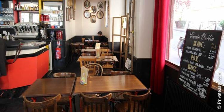 Le Café Custine, Bar Paris Montmartre #1
