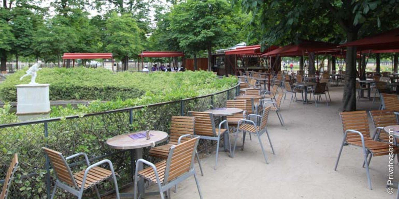 Le Café Diane, au Tuileries