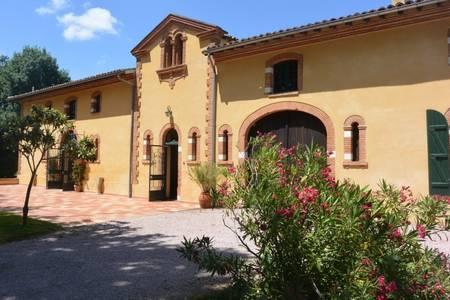 Domaine de Montoussin, Salle de location Castelnau-Picampeau  #0