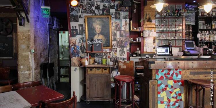 La Marquise, Bar Paris Oberkampf #2
