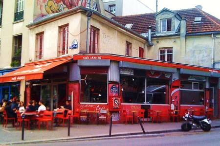 Le Café Chéri, Bar Paris Belleville #0